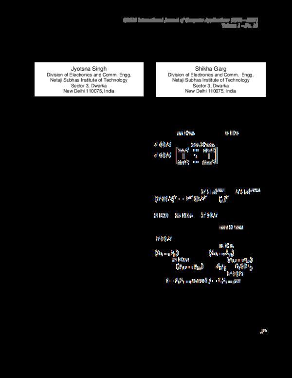 PDF) Eigen Decomposition of Reed Muller Transform using