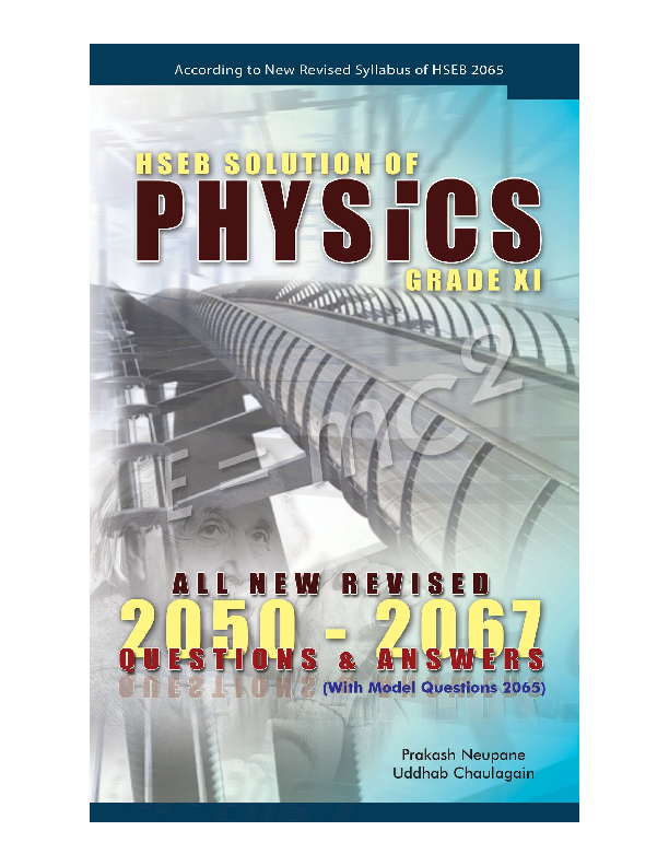 PDF) HSEB Solutions of Physics -Grade XI & XII | Uddhab