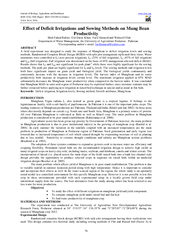 Pdf Iiste International Journals 2014 Edition Vol 5