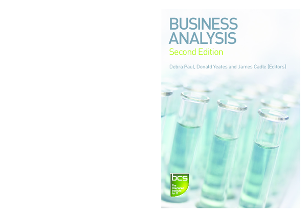 Business Analysis Debra Paul Ebook