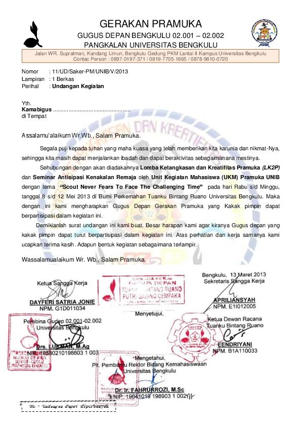 Pdf Gerakan Pramuka Gugus Depan Bengkulu 02001 02002