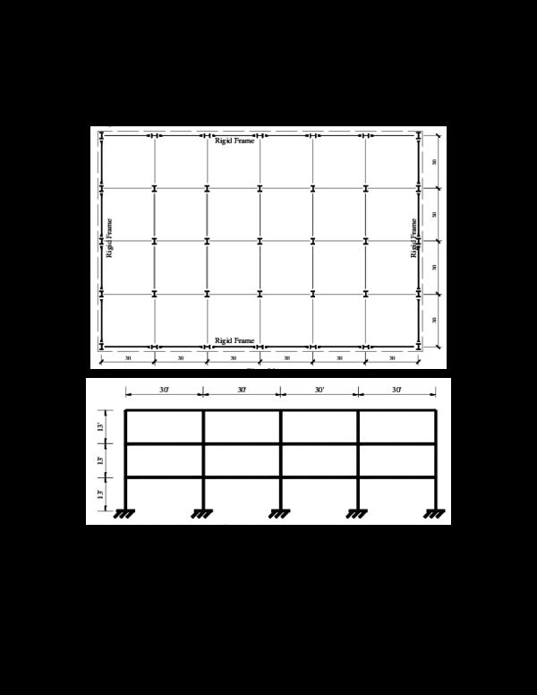 Pdf Earthquake Load Calculation Base Shear Method Rigid Frame