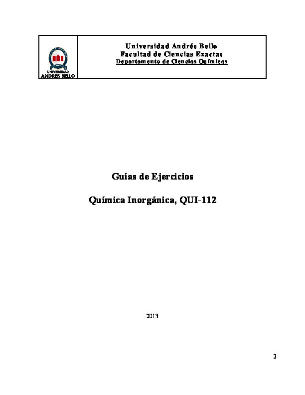 Pdf Parcial Inorganica Julian Ugarte Academia Edu