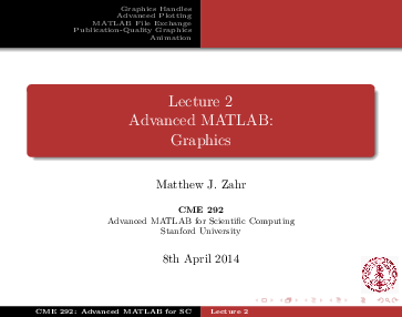 PDF) Lecture 2: Graphics   Matthew Zahr - Academia edu