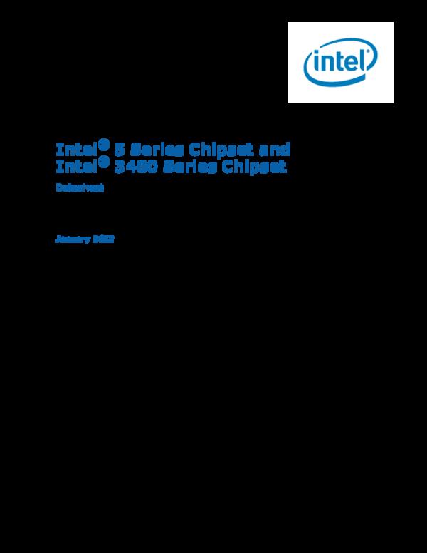 PDF) 5-chipset-3400-chipset-datasheet | rathinasabapathy