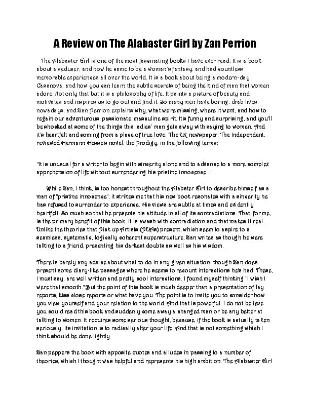 alabaster girl pdf