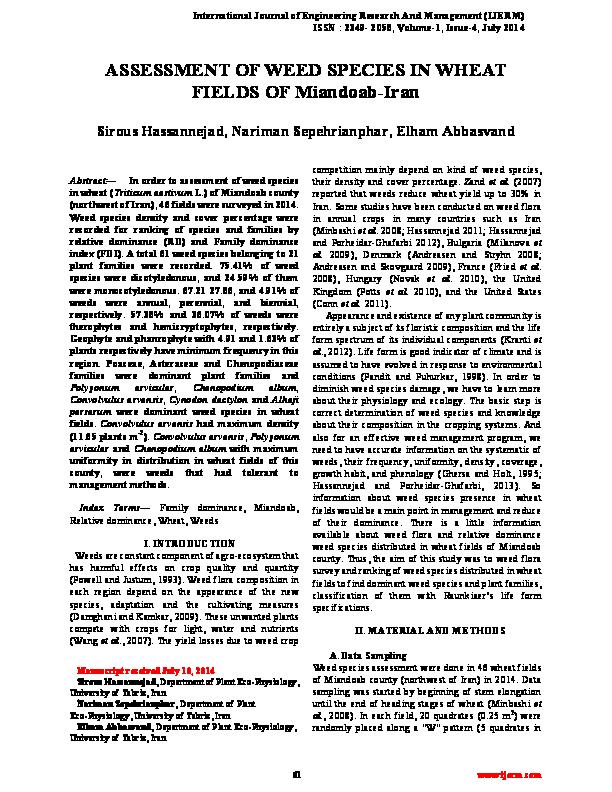 International Journal Of Engineering Research Managementvol 1