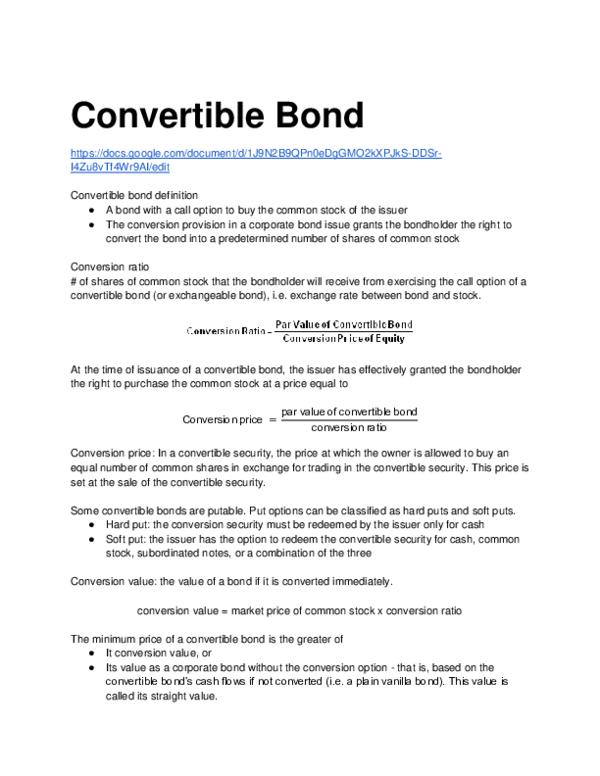 bond call price