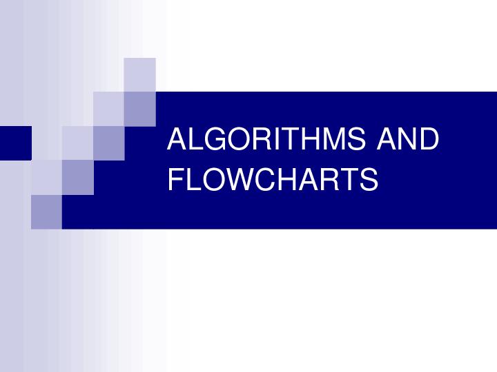 PDF) ALGORITHMS AND FLOWCHARTS | Markyy de Dios - Academia edu