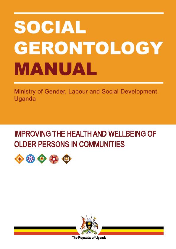 Doc Lusoga Proof Copy Of Social Gerontology Manual Cornelius W Gulere Academia Edu