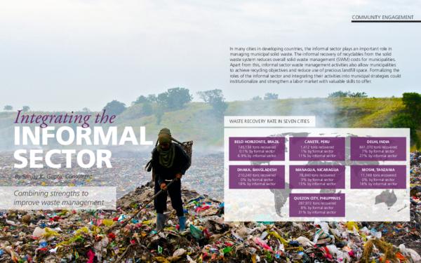 PDF) Integrating the Informal Sector in Waste Management