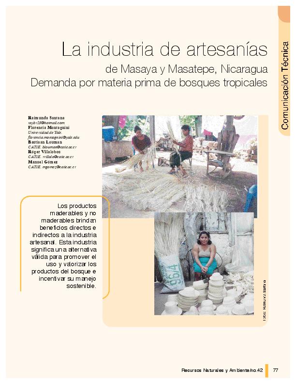 La industria de artesanías de Masaya y Masatepe 12806613e73