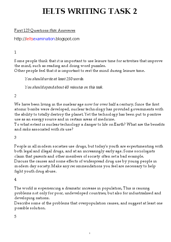 PDF) IELTS WRITING TASK 2 | Rubneet Singh - Academia edu