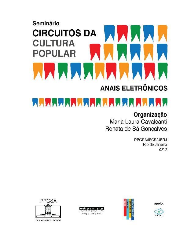 baebda813f Circuitos Musicais de Januária  fonografia e performance
