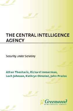 PDF) The Central Intelligence Agency Recent Titles in