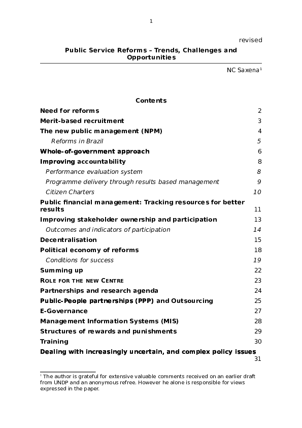 PDF) Development issues in India   Naresh Saxena - Academia edu