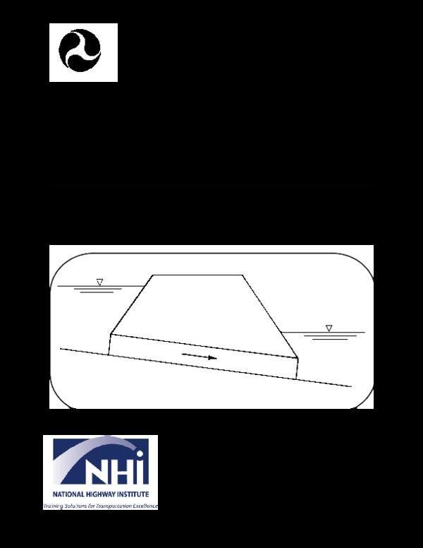PDF) Hydraulic Design of Highway Culverts | Adrian Frantescu