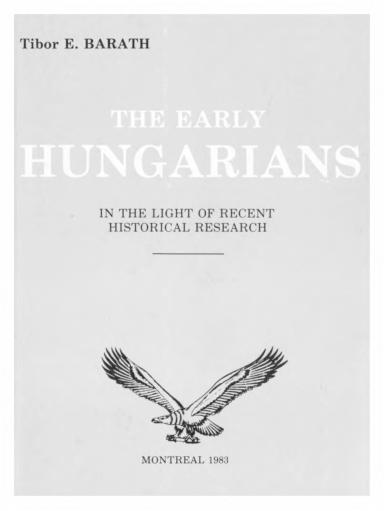 8a6c5d7794 PDF) the early hungarians | Csaba Hong - Academia.edu