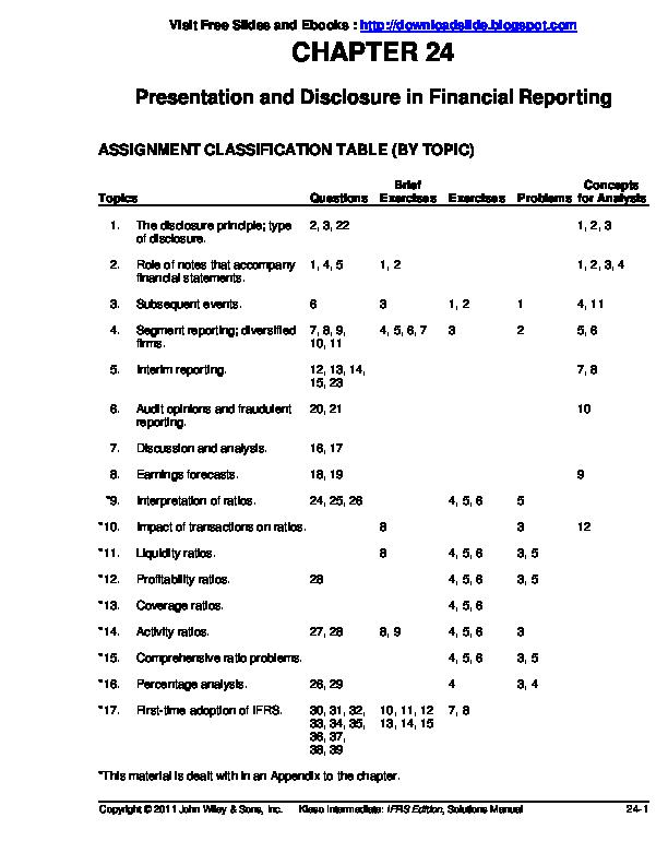 Kunci Jawaban Accounting Intermediate Ch 12 - Peranti Guru