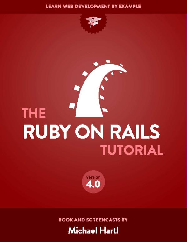 Pdf 2 Ruby On Rails Tutorial Learn Rails By Example Dinesh Kumar M Academia Edu