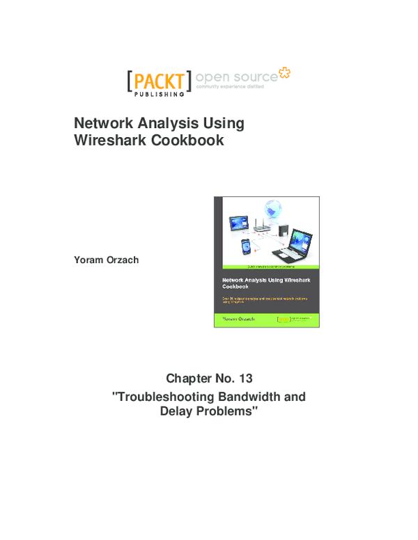 PDF) Network Analysis Using Wireshark Cookbook | mahfud saputra