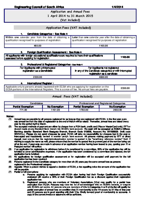 PDF) ECSA | Ernest Ng'ombe - Academia edu