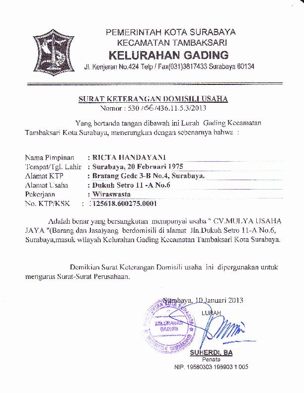 Pdf Pemeri Ntah Kota Su Rabaya Kecamatan Tambaksari