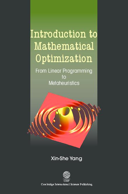 PDF) Mathematical Optimization Linear Programming to