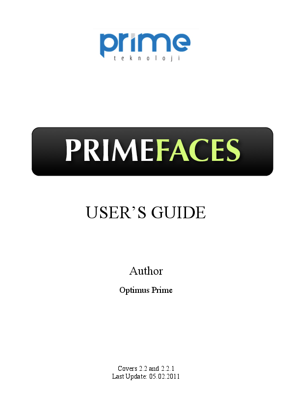 PDF) GUIA PRIMEFACES | Edgar Ivan Tuza Cuenca - Academia edu