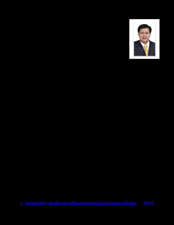 Pdf Business Corporate Cv Francisco C De La Cruz Jr