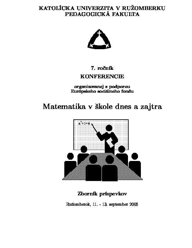 9f05a5f2f PDF) Zisťovanie efektívnosti vyučovacieho procesu v kontexte ...