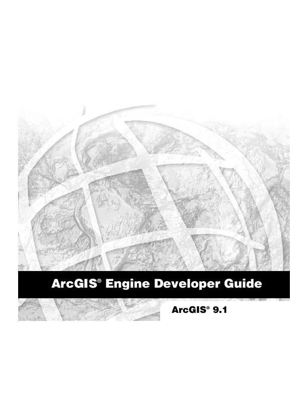 PDF) ArcGIS desktop programming | Jacques Mary - Academia edu