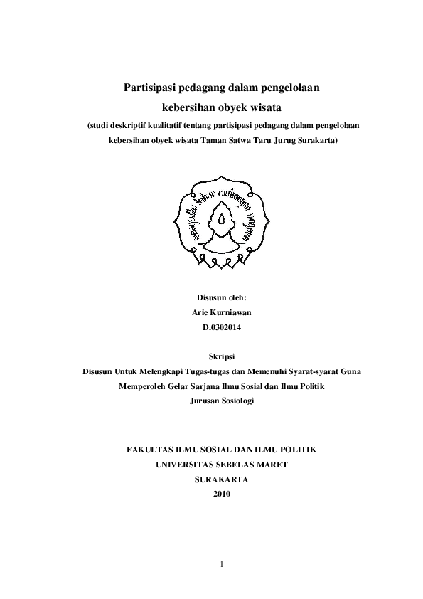 Doc Proposal Kebersihan Lingkungan Riyan Supridi Academia Edu