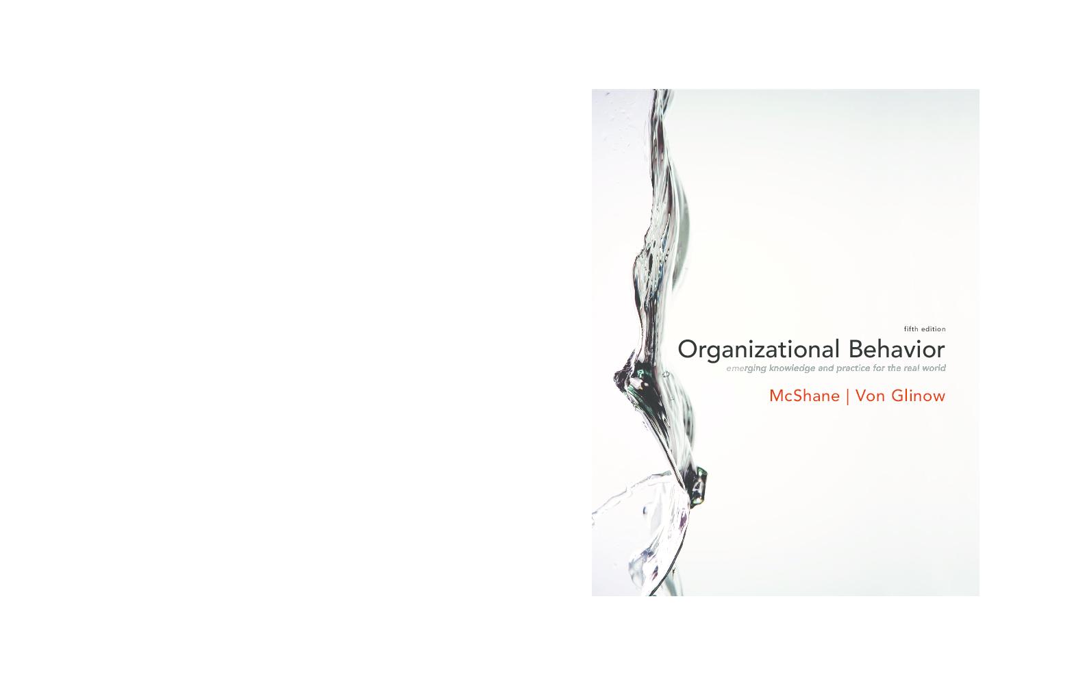Pdf Organizational Behavior 5th Edition Rizky Ardani Academia Edu