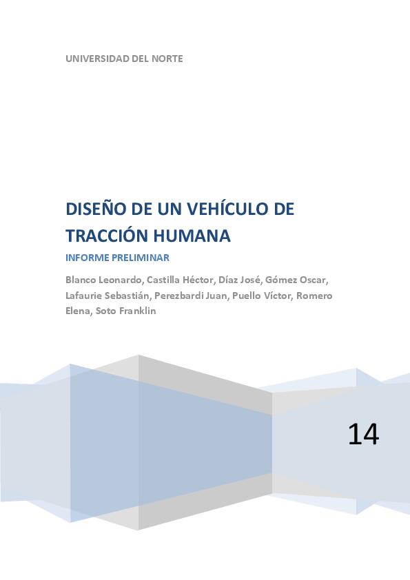 PDF) DISEÑO DE UN VEHÍCULO DE TRACCIÓN HUMANA  e87eb993e99