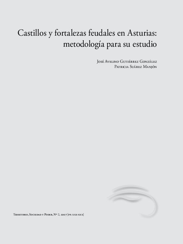 Pdf Castillos Y Fortalezas Feudales En Asturias