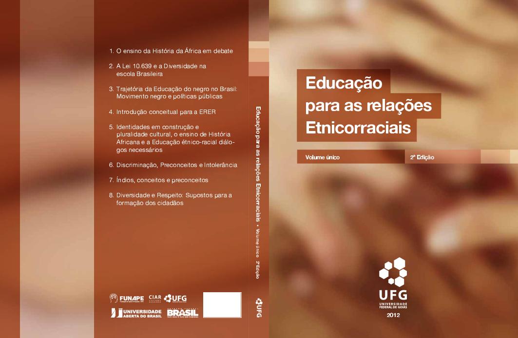 2012 Educação para as relações Etnicorraciais Volume único 2ª Edição ... 5d845c2e72