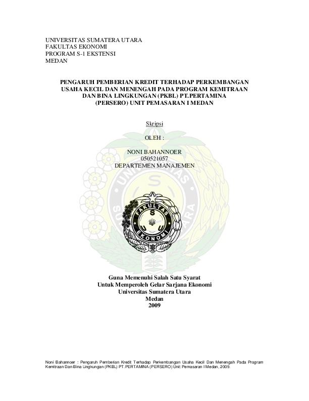 Pdf Skripsi Umkm Pertamina Haviez Abdillah Academia Edu