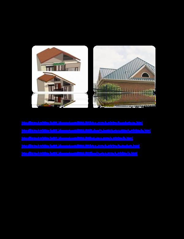 Doc Gambar Desain Atap Rumah Minimalis Kang Shemoneey Academia Edu