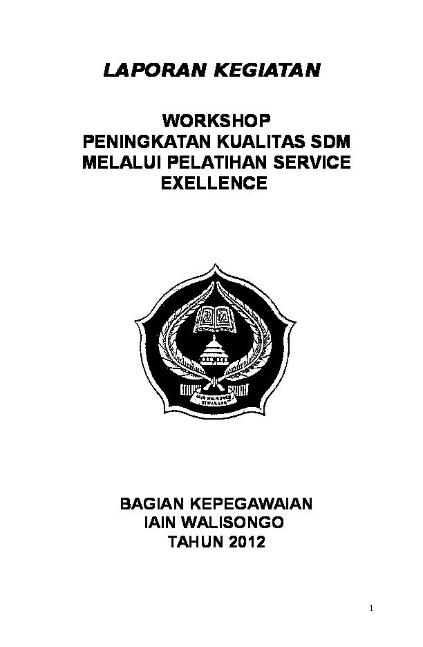 Laporan Hasil Workshop Febi Walisongo Academia Edu