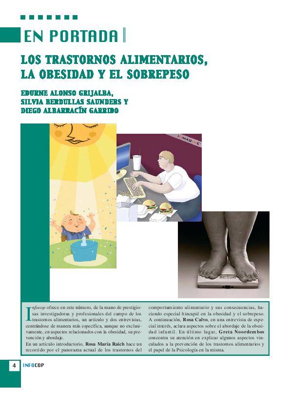 que es la obesidad y sobrepeso pdf