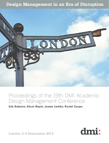 f4746fa2f00 PDF) Proceedings of the 19th DMI International Design Management ...