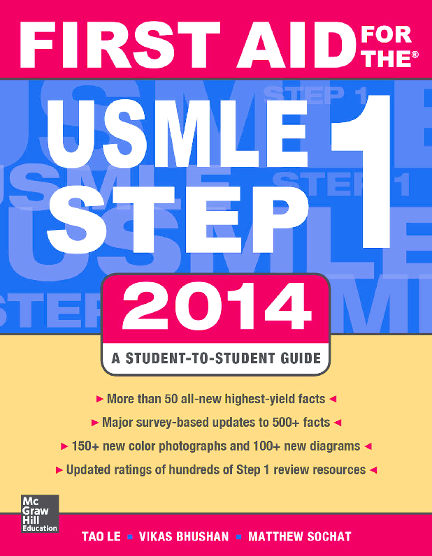 PDF) First Aid for the USMLE Step 1 2014 | Khunthong Pechatanan