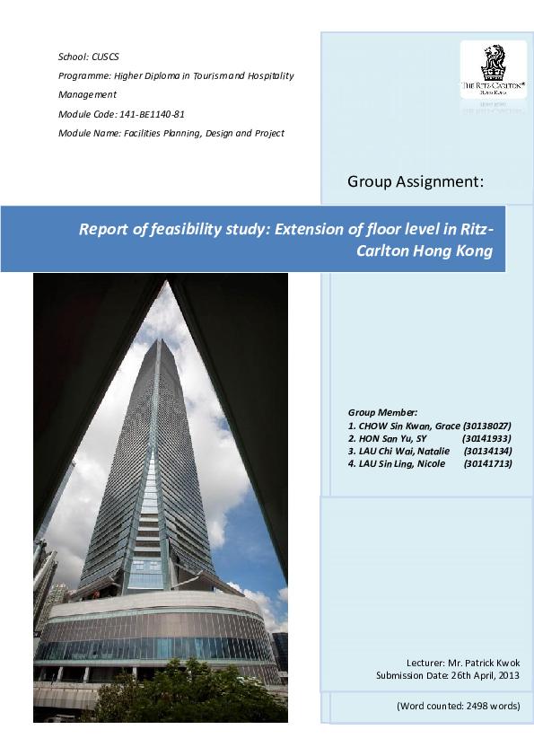 Architectural Feasibility Study Pdf