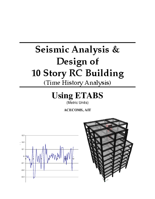 PDF) ETABS-Example-RC Building Seismic Load Time History | Roberto
