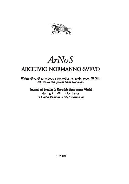 Pdf Armando Bisanti Composizione Stile E Tendenze Dei Gesta Roberti Wiscardi Di Guglielmo Il Pugliese Arnos 1 Arnos Journal Academia Edu