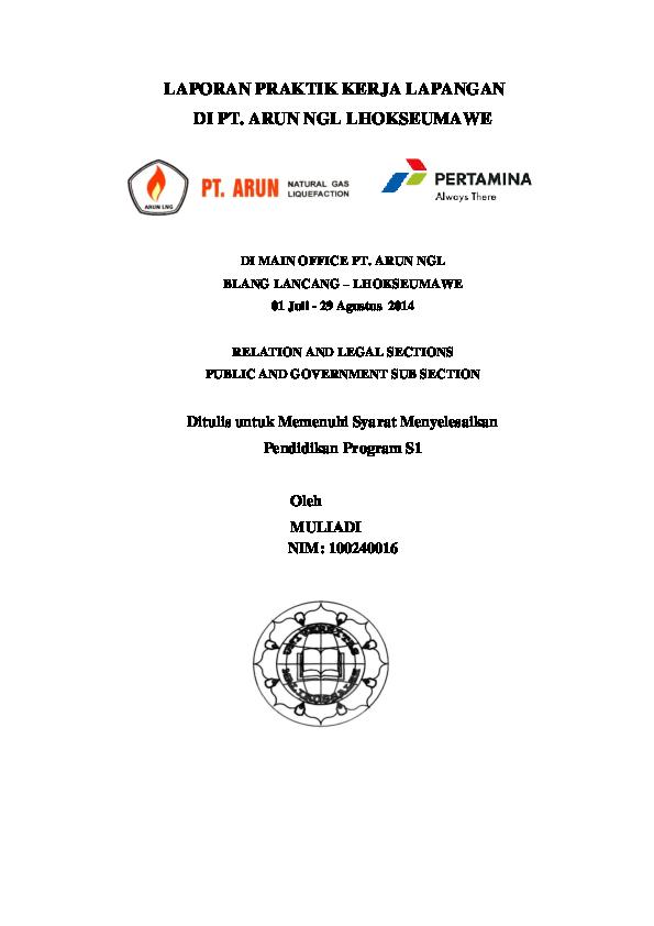Doc Laporan Pkl 1 5 Adhin Dhevayant Academia Edu