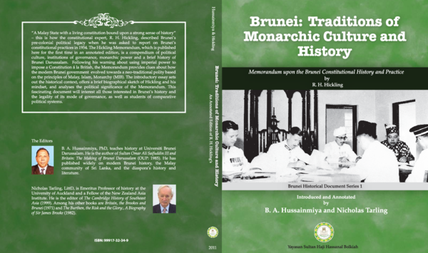 PDF) Brunei: Traditions of Monarchic History and Culture | Bachamiya