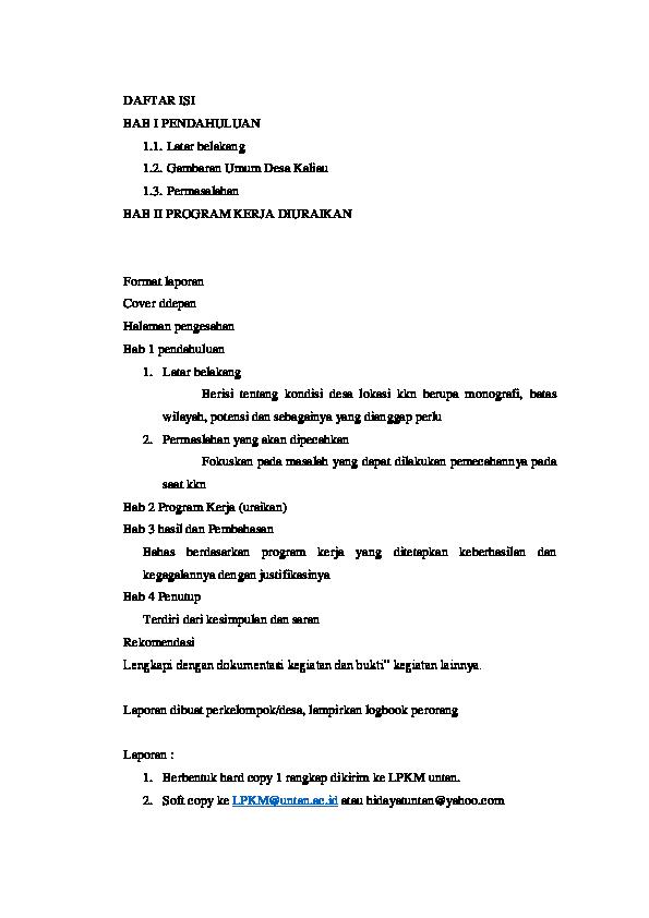 DOC) Laporan KKN Kebangsaan  da125d7d43