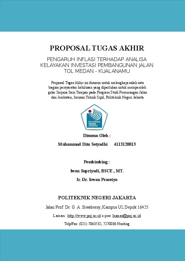 Doc Proposal Tugas Akhir Ifan Rusyandi Academia Edu